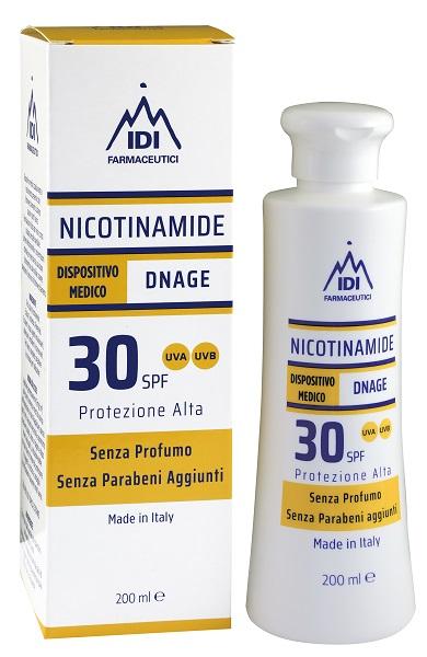 NICOTINAMIDE DNAGE 30SPF PROTEZIONE ALTA 200 ML - Farmastar.it