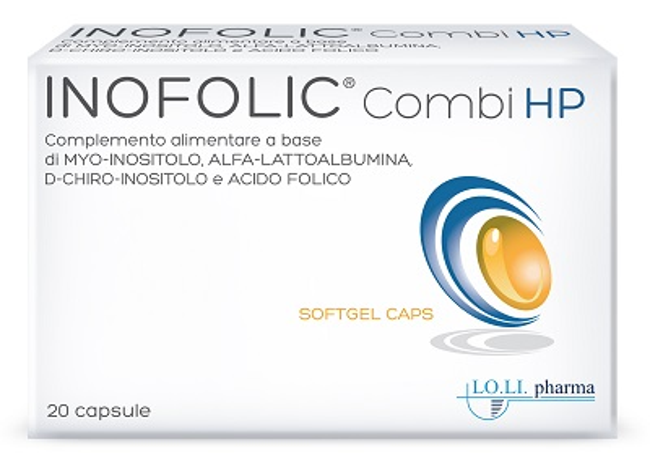 INOFOLIC COMBI HP 20 CAPSULE - Farmajoy