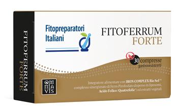 FITOFERRUM FORTE 30 COMPRESSE - Farmapage.it