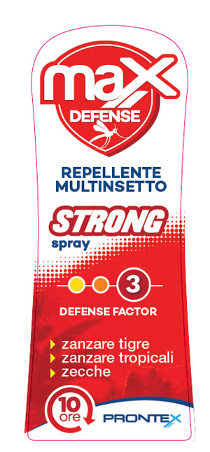PRONTEX MAX DEFENSE SPRAY STRONG - Farmastar.it