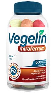 VEGELIN MIRAFERRUM 60 CARAMELLE GOMMOSE - Farmaseller