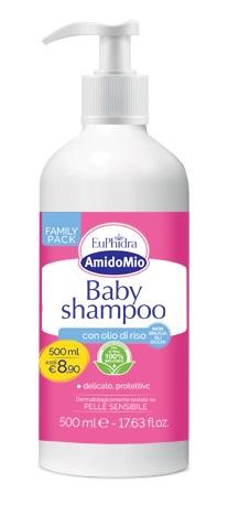EUPHIDRA AMIDOMIO BABY SHAMPOO 500 ML - Zfarmacia