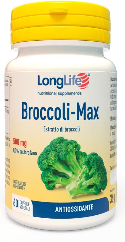 LONGLIFE BROCCOLI MAX 60 CAPSULE - Farmabaleno