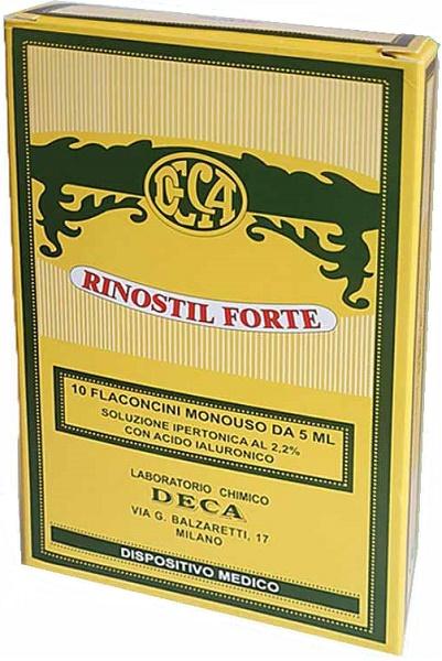 RINOSTIL FORTE 10 FLACONCINI MONOUSO DA 5 ML - Farmafamily.it