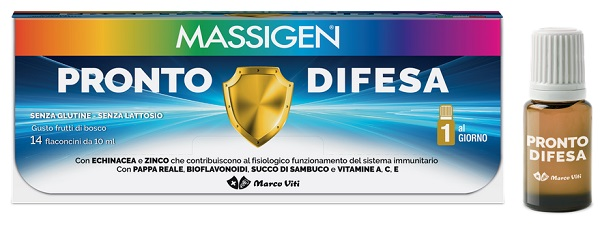 MASS PRONTO DIFESA 14 FLACONI X 10 ML - Farmafamily.it