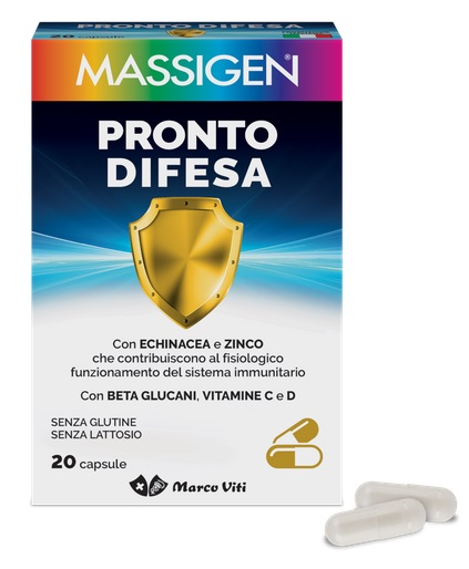 MASS PRONTO DIFESA 20 CAPSULE - Speedyfarma.it