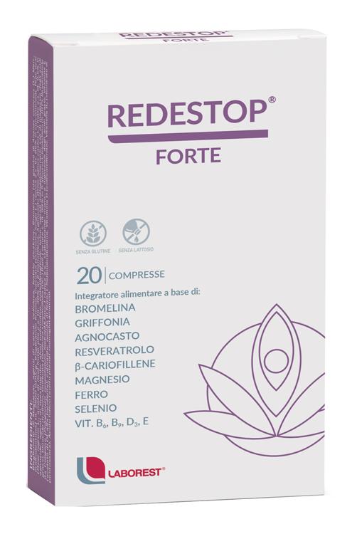 REDESTOP FORTE 20 COMPRESSE - Farmaseller