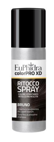 EUPHIDRA COLORPRO XD TINTURA RITOCCO SPRAY CAPELLI BRUNO 75 ML - FARMAPRIME