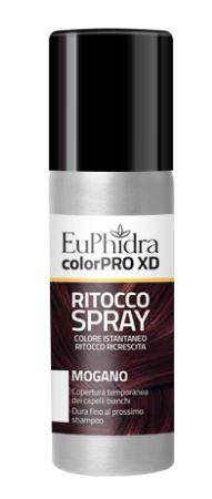 EUPHIDRA COLORPRO XD TINTURA RITOCCO SPRAY CAPELLI MOGANO 75 ML - Farmaseller