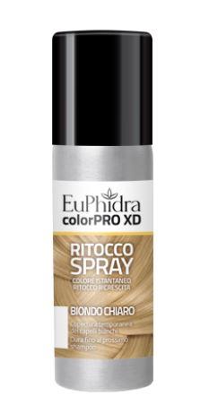 EUPHIDRA COLORPRO XD TINTURA RITOCCO SPRAY CAPELLI BIONDO CHIARO 75 ML - Farmaseller