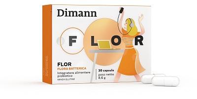 DIMANN FLOR 30 CAPSULE - Farmaseller