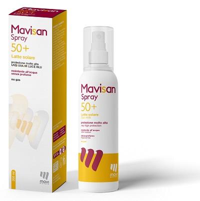 MAVISAN SPRAY 50+ LATTE SOLARE PROTEZIONE MOLTO ALTA 200 ML - Farmaseller