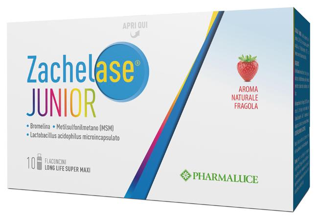 ZACHELASE JUNIOR 10 FLACONCINI DA 10 ML - Nowfarma.it