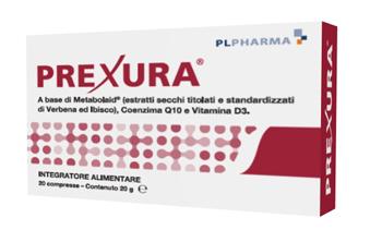PREXURA 20 COMPRESSE - Farmaseller