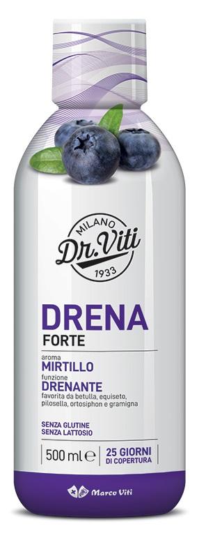 DRENA FORTE MIRTILLO 500 ML - Farmaseller
