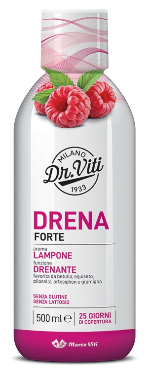 DRENA FORTE LAMPONE 500 ML - Farmaseller