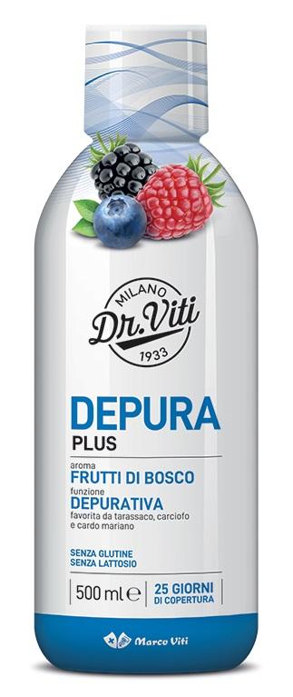 DEPURA PLUS FRUTTI DI BOSCO 500 ML - Farmaseller