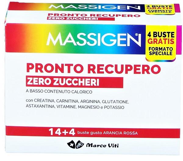 PRONTO RECUPERO ZERO ZUCCHERO 14 BUSTINE + 4 BUSTINE - Speedyfarma.it