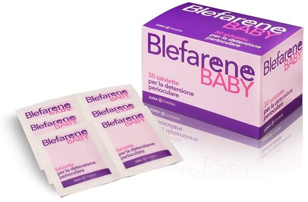 BLEFARENE BABY 30 SALVIETTE MONOUSO PER DETERSIONE PERIOCULARE - Farmaseller
