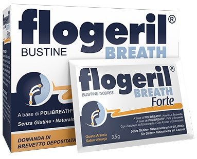 FLOGERIL BREATH FORTE 18 BUSTINE - Farmafamily.it
