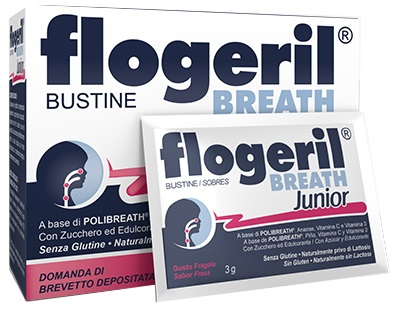 FLOGERIL BREATH JUNIOR 20 BUSTINE - Farmafamily.it