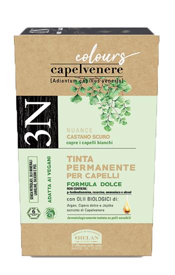 CAPELVENERE COLOURS TINTA CAPELLI 3N CASTANO SCURO - Farmaseller