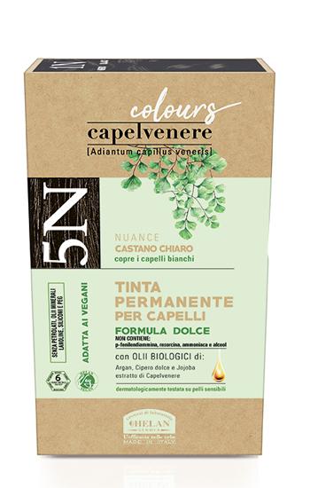 CAPELVENERE COLOURS TINTA CAPELLI 5N CASTANO CHIARO - Farmaedo.it