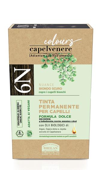CAPELVENERE COLOURS TINTA CAPELLI 6N BIONDO SCURO - Farmaedo.it