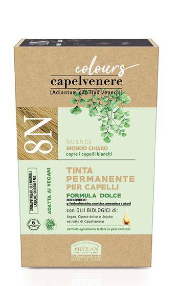 CAPELVENERE COLOURS TINTA CAPELLI 8N BIONDO CHIARO - Farmaseller