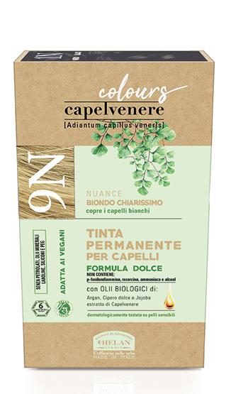 CAPELVENERE COLOURS TINTA CAPELLI 9N BIONDO CHIARISSIMO - Farmaedo.it