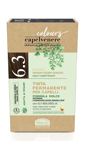 CAPELVENERE COLOURS TINTA CAPELLI 6,3N BIONDO SCURO DORATO - Farmaedo.it