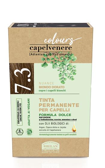 CAPELVENERE COLOURS TINTA CAPELLI 7,3N BIONDO DORATO - Farmaedo.it
