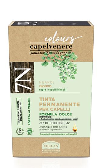 CAPELVENERE COLOURS TINTA CAPELLI 7N BIONDO - Farmaedo.it