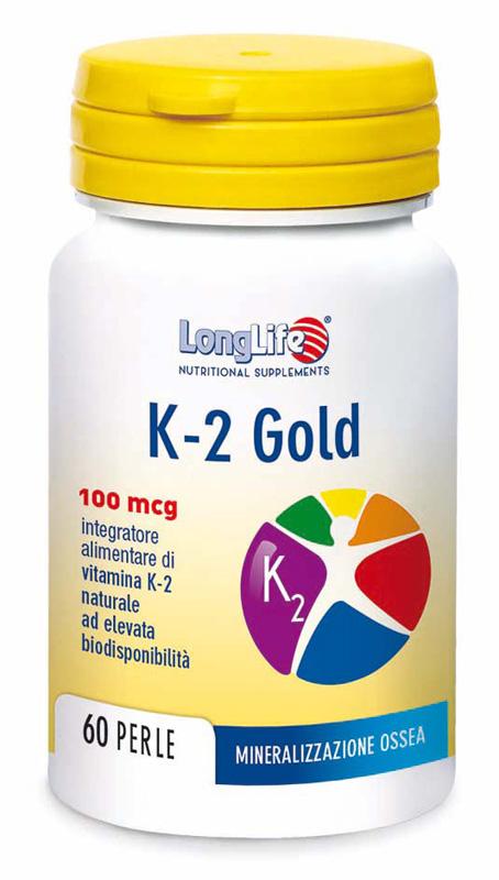 Longlife K-2 Gold 60 Perle - Arcafarma.it