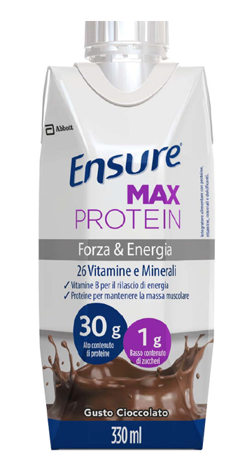 Ensure Max Protein Cioccolato 330ml - Sempredisponibile.it