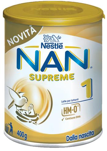 NESTLE' NAN SUPREME 1 LATTE DI CRESCITA 400 G - farmaciadeglispeziali.it