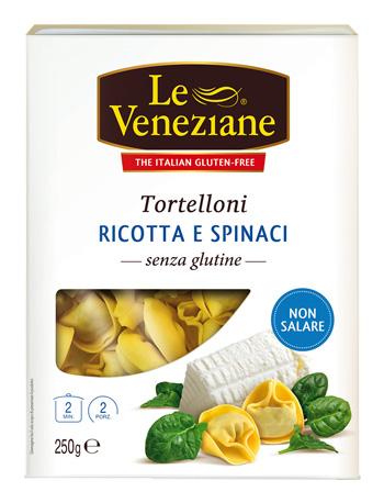 LE VENEZIANE TORTELLONI RICOTTA E SPINACI 250 G - Farmaseller
