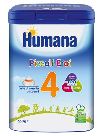 HUMANA 4 PROBALANCE 650 G MP - Farmaseller