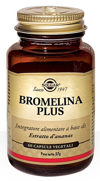 BROMELINA PLUS 60 CAPSULE - Farmafamily.it