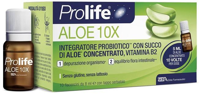 PROLIFE ALOE 10 FLACONI X 8 ML - Farmafamily.it
