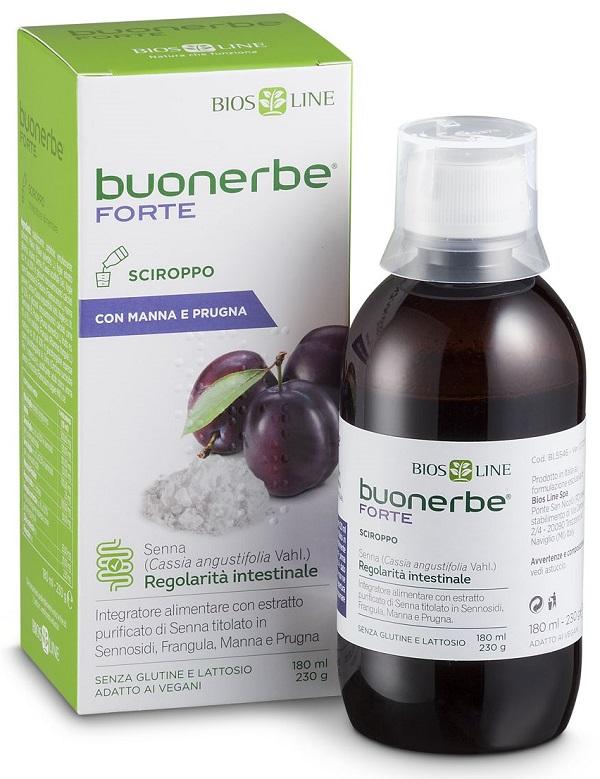 BUONERBE FORTE SCIROPPO 180 ML - Farmaseller