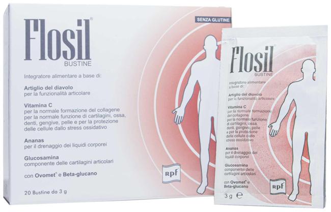 FLOSIL 20 BUSTINE 3 G - Antica Farmacia Del Lago