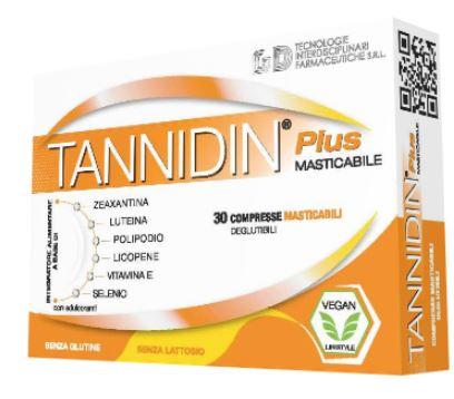 TANNIDIN PLUS 30 COMPRESSE MASTICABILI - Farmaseller