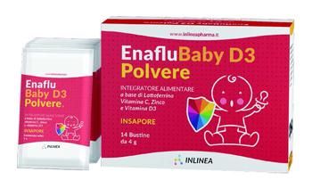 ENAFLU BABY D3 POLVERE 14 BUSTINE - Farmaciasconti.it