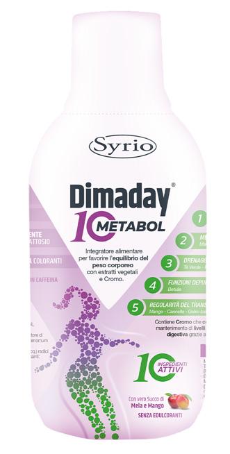 DIMADAY METABOL 10 500 ML - Farmaseller
