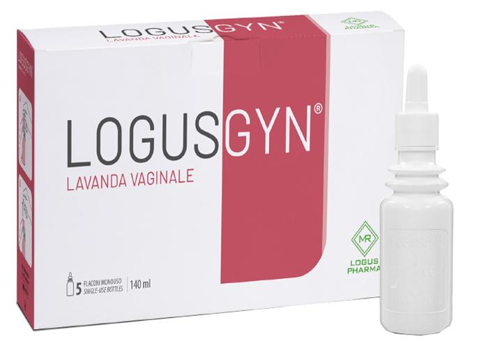 LOGUSGYN LAVANDA VAGINALE 5 FLACONI 140 ML - Farmaseller