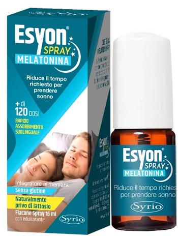 ESYON MELATONINA SPRAY 16 ML - Farmaseller