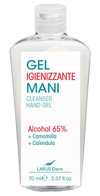 LARUS DERM GEL IGIENIZZANTE MANI 70 ML - Farmastar.it