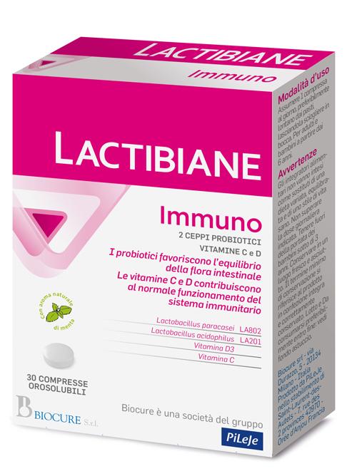 LACTIBIANE IMMUNO 30 COMPRESSE - Farmacia Barni