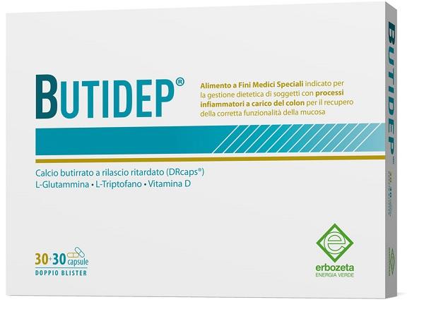 BUTIDEP DOPPIA CAPSULA 30+30 CAPSULE - Farmaseller